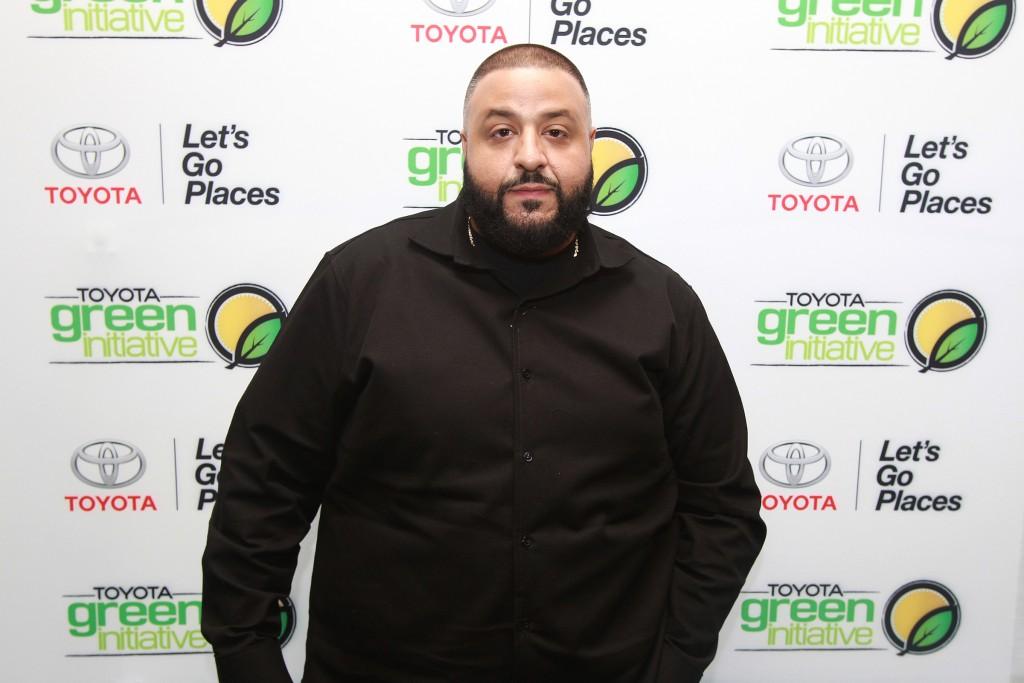 DJ Khaled attending the Bryan-Michael Cox pre-GRAMMY Brunch 2016
